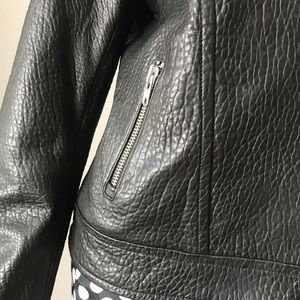 Mackage Jackets & Coats - MACKAGE MONTREAL BLACK LEATHER MOTORCYCLE JACKET L